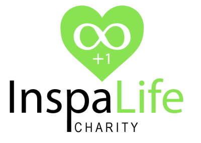 Inspalife Charity logo Designed by Chipleader Marketing - Chipleader.nl