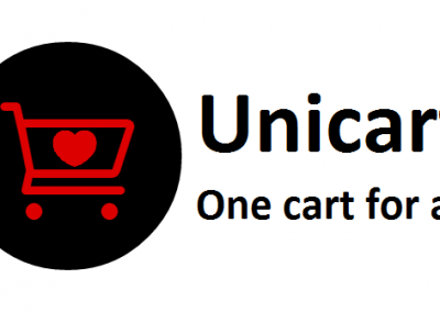 Unicart logo Designed by Chipleader Marketing - Chipleader.nl